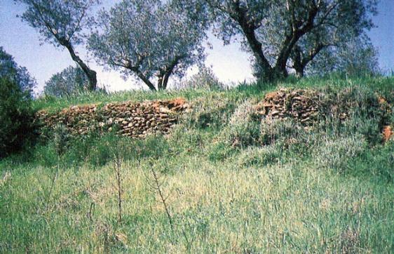 Sítio onde teria existido o Castelo de Cera