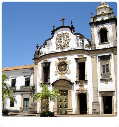 Mosteiro de São Bento, em Olinda, Pernambuco, Brasil. (Pedro Dias)