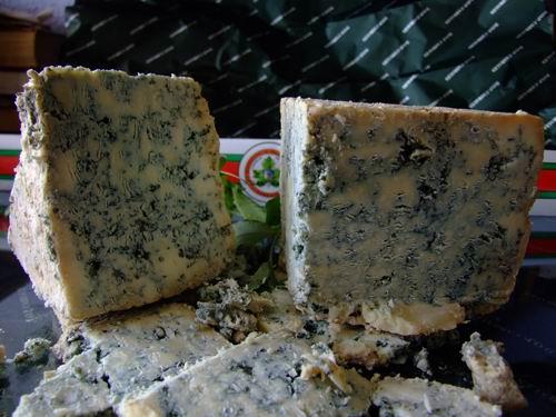 Peças do queijo de Cabrales