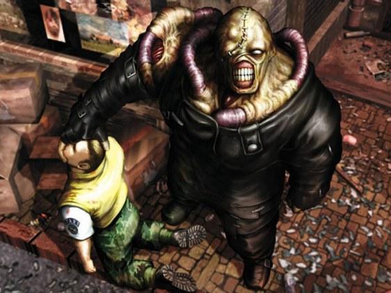 O super vilão Nemesis, do jogo Resident Evil 3