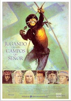"""Capa do VHS de """"Brincando nos Campos do Senhor""""."""