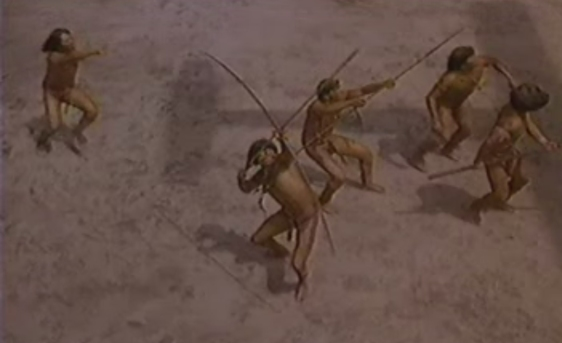 Uma das cenas marcantes do filme.
