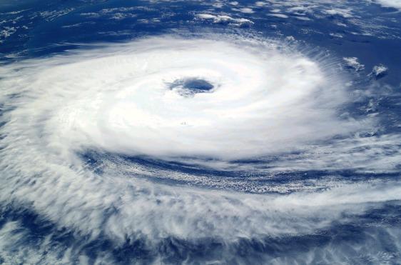 Furacão Catarina, segundo alguns cientistas, resultado das mudanças climáticas devido ao aquecimento global.