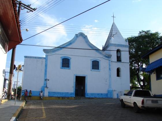 Igreja-forte de São João Batista, Cananéia.