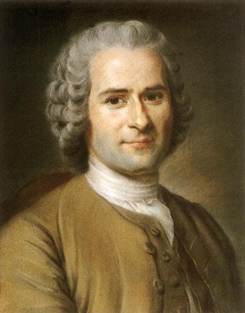 Retrato de Jean-Jacques Rousseau (1753), de Maurice Quentin de La Tour, um dos iluministas.