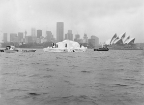 Iceberg em Sydney, de Dick Smith.