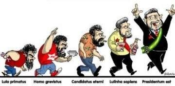 A evolução do Lula
