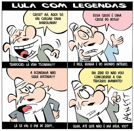 Lula e sua reação à Crise Mundial