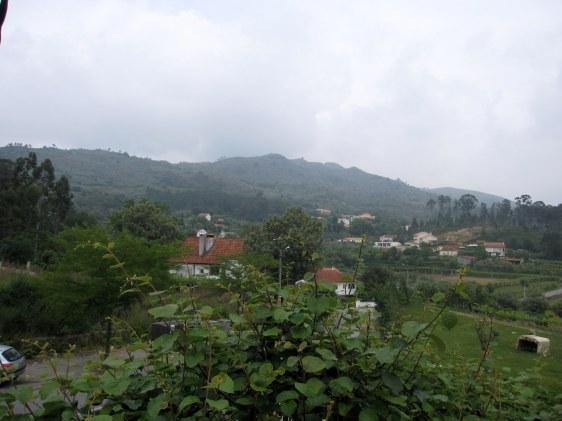 Vista do Monte da Nó, na freguesia de Vitorino de Piães (Nicole Viana).