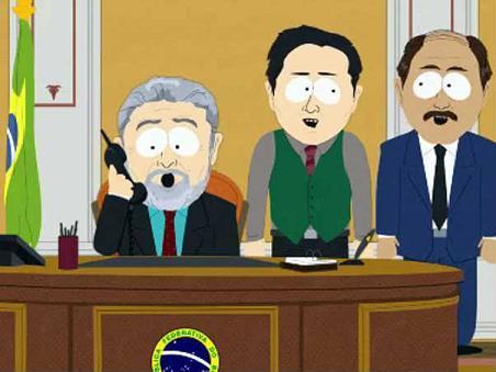 Lula em desenho animado (South Park)