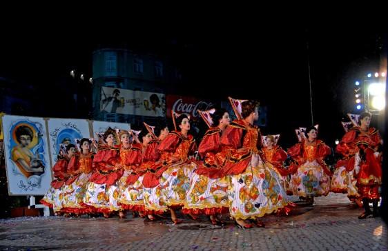 Componentes da Marcha de Marvila, no ano de 2007.