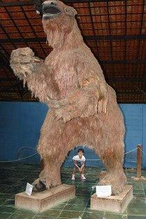 Preguiça Gigante: espécie de animal extinto que precisa ser preservado (!?).