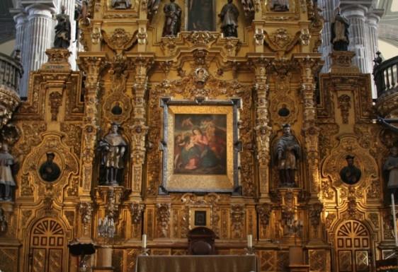 Altar do Perdão, Catedral do México.