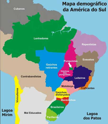 Selocalize Mapas Do Brasil Segundo