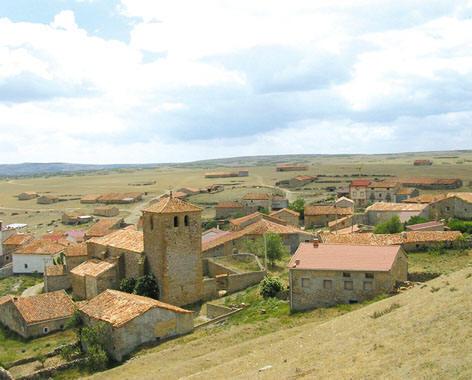 Vista do pueblo de Motos.